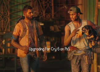 Upgrading Far Cry 6 on Ps5