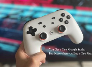 You Get a New Google Stadia Hardware when you Buy a New Game