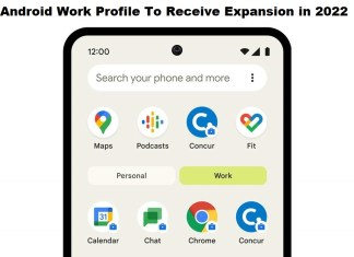 Android Work Profile To Receive Expansion in 2022