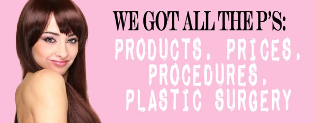 Price, Product, Procedure, Plastic Surgery