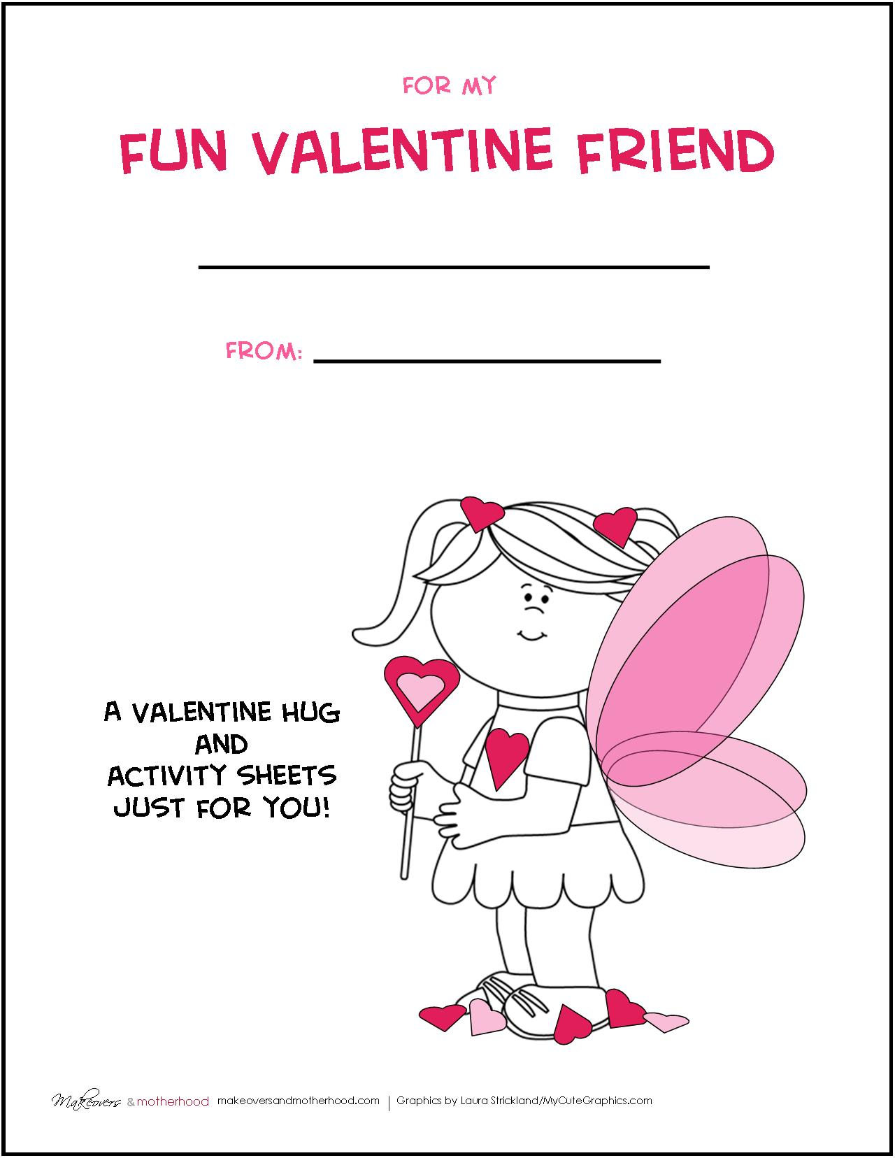 Valentine Activity Pack Printable