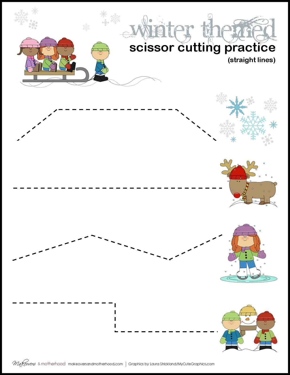 Pre Kindergarten Worksheet Free Printables Christmas