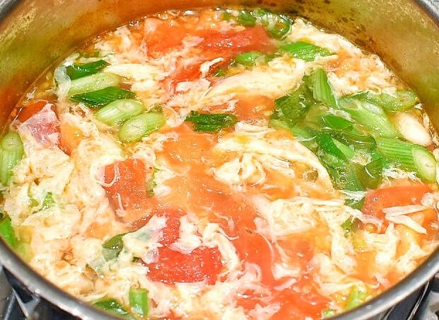tomato and egg soup recipes