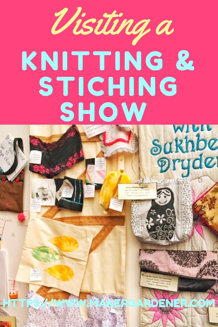 visitng knitting and stitch show