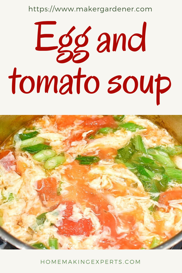 egg & tomato soup