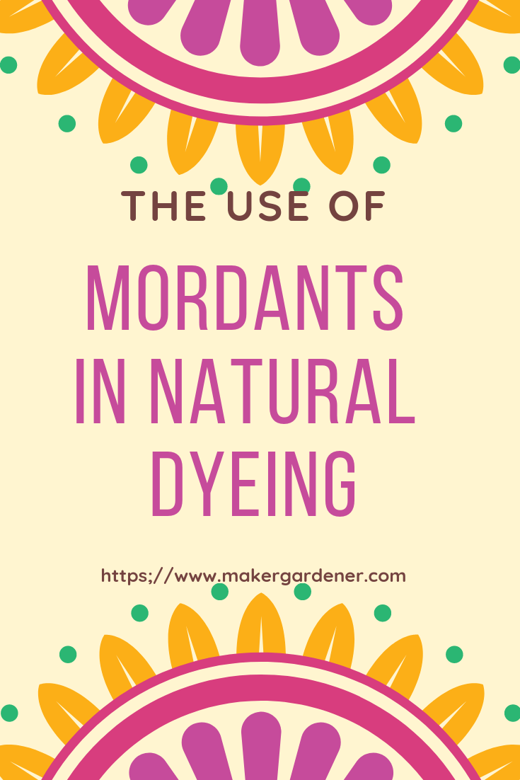 the use of mordant part 2