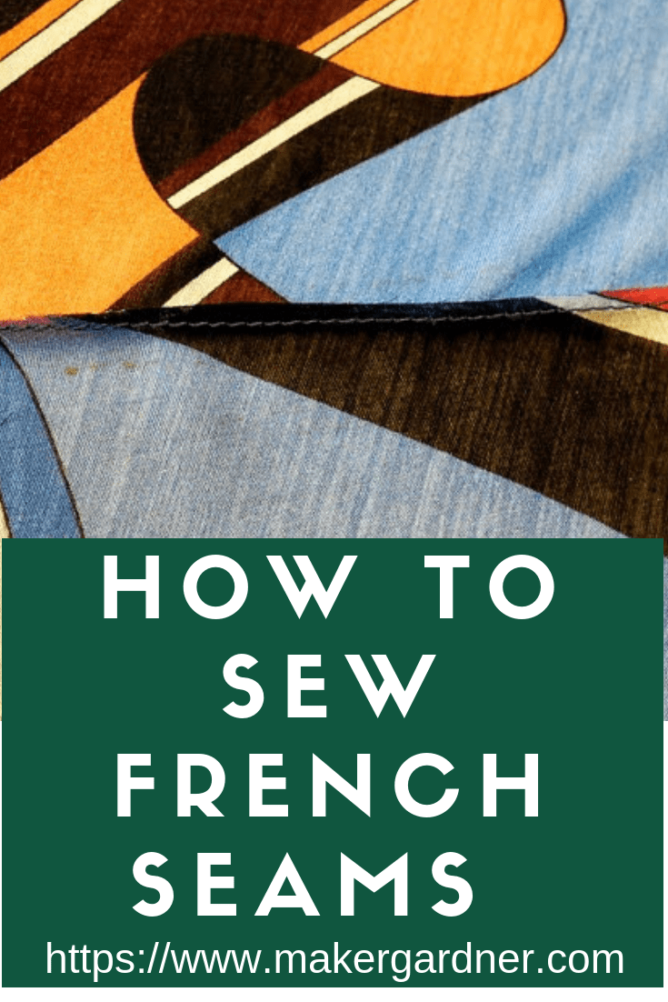 how to sew french seam