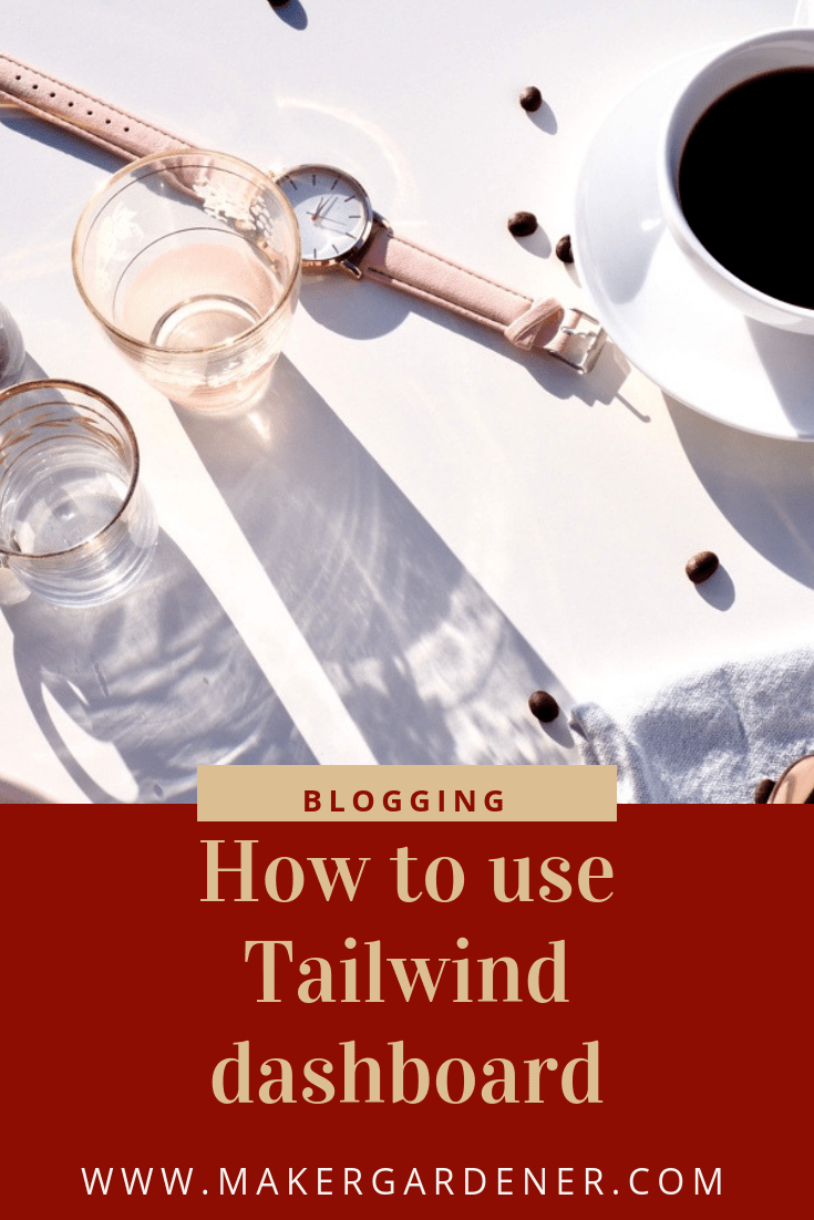 how to use Tailwind dashboard