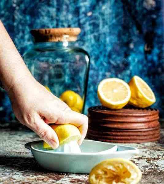 Lemon sorbet homemade recipe