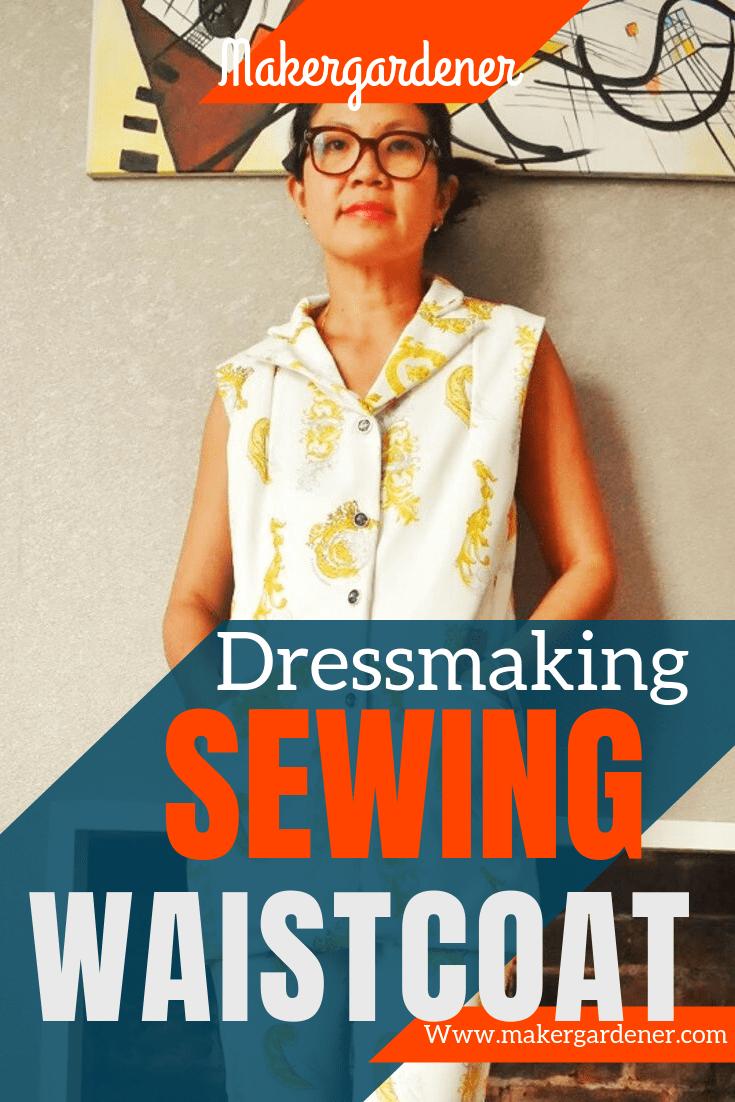 sewing waistcoat
