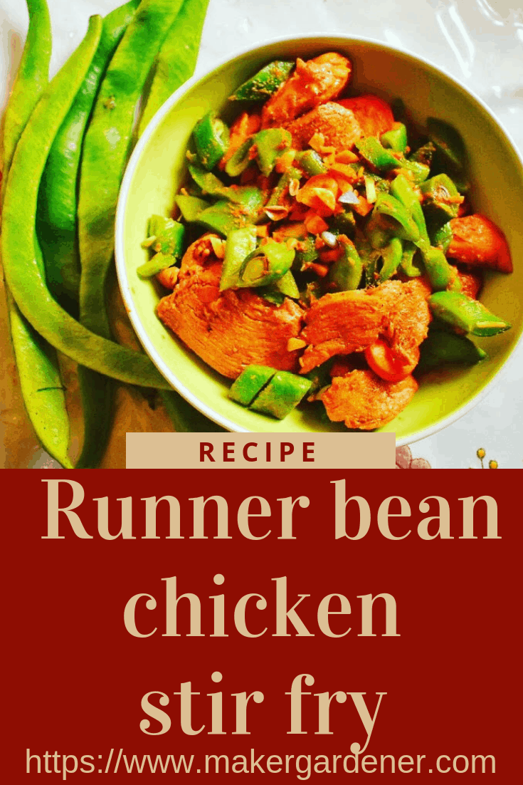 runner bean chicken stir fry
