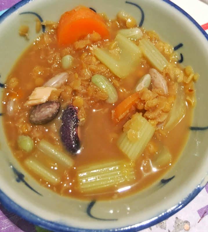 bean and lentil soup