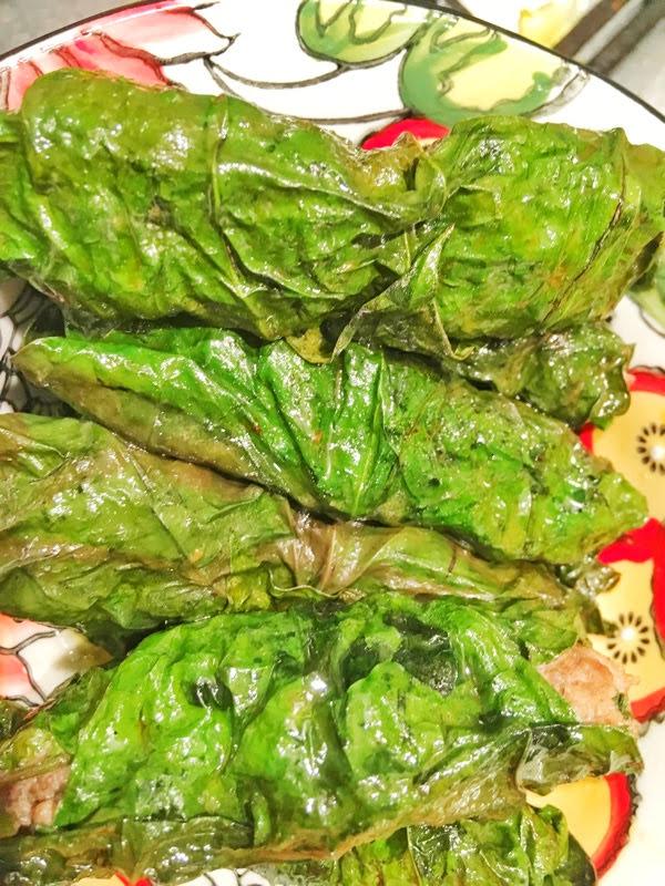 vietnamese beef wrap