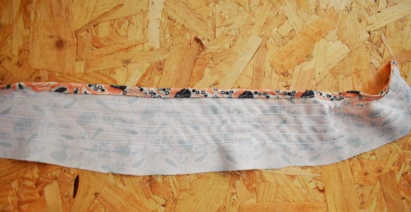 sewing elastic shirring