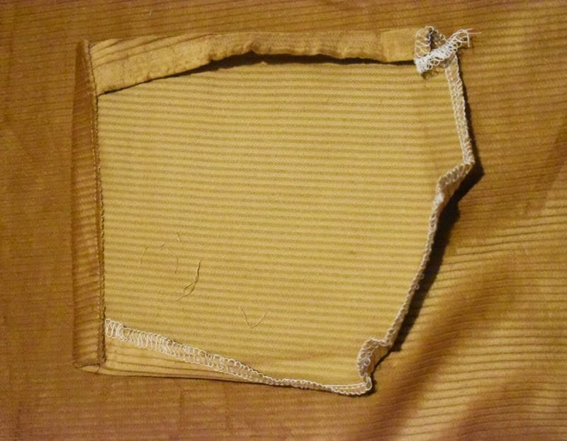 sewing patch pocket