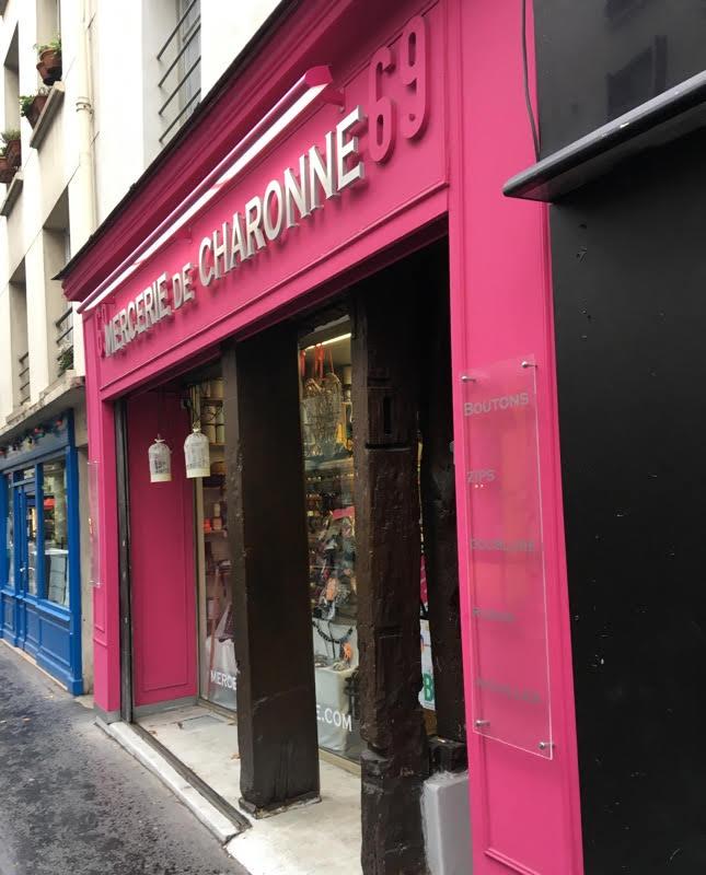 haberdashery in Paris