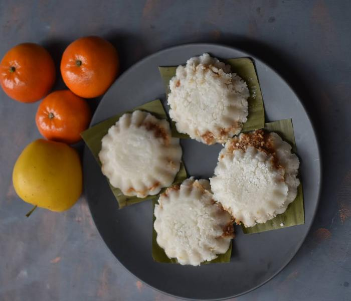 Putu piring snack homemade recipe