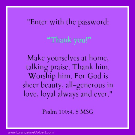 Monday's Marinade- Password