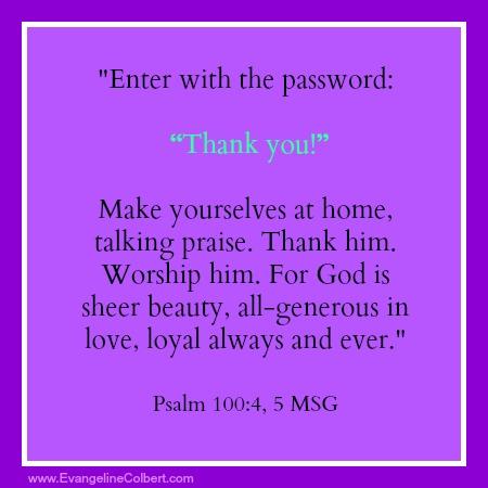 Monday's Marinade- Password
