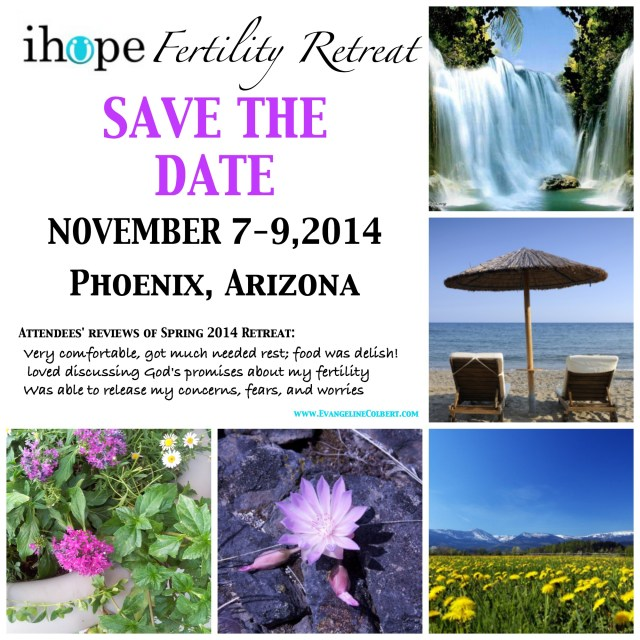 Fertility Retreat-- Save the Date