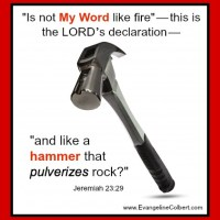 Focus Friday - God's Word, Your Hammer