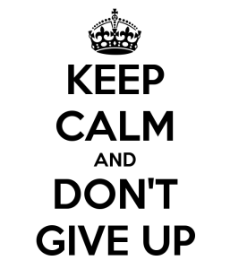 Keep calm--infertility and hopelessness