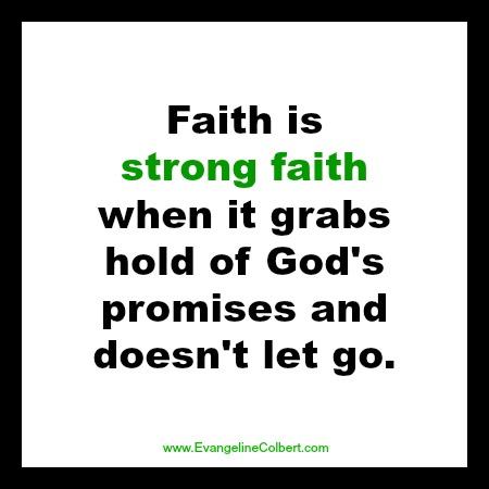 strong faith