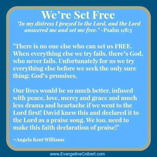Prayer - We're set Free - Angela Williams
