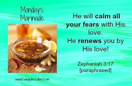 God's Love - Monday's marinade