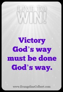 Victory God's way