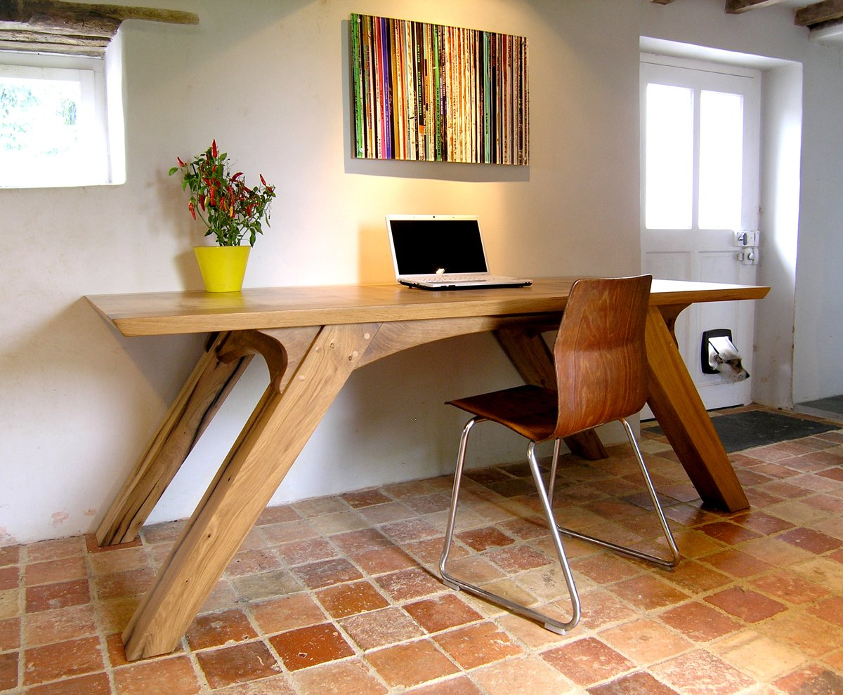 Bespoke Office Desk Oak Dining Table Makers Handmade