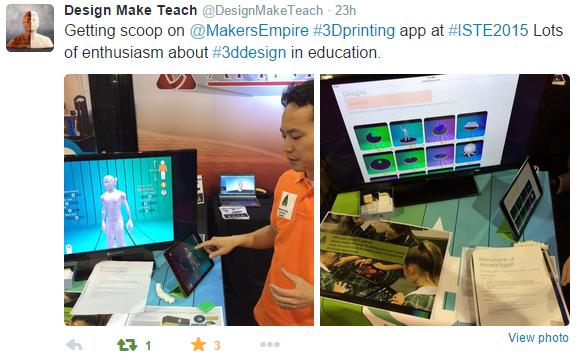 Makers Empire - ISTE - Teach Make