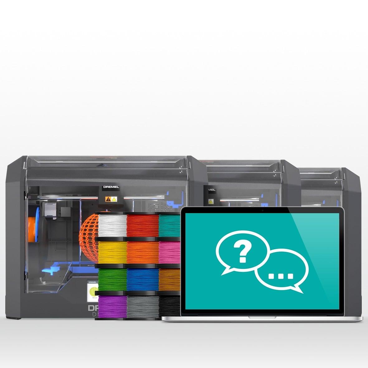 MAK_Shop_1902_3D45 3 Printer Bundle