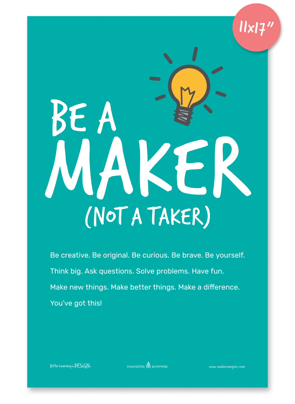 Be a Maker US Tabloid
