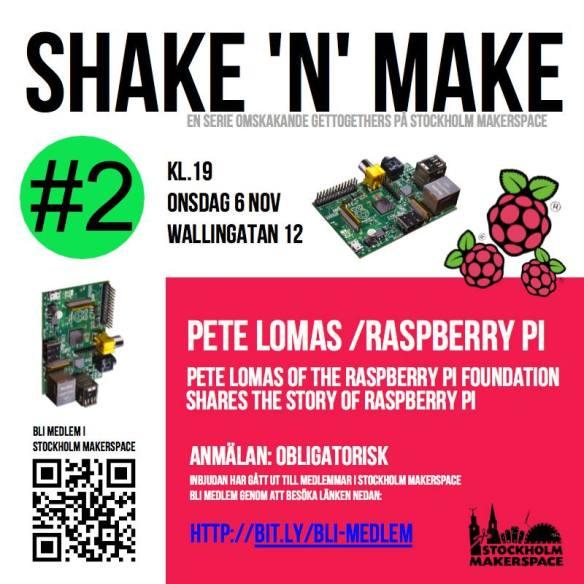 Stockholm Makerspace - Rasberry Pi