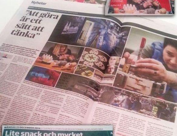 Stockholm Makerspace i DN