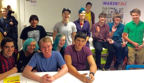 Group w Alex Glow Monday 9 May 2016