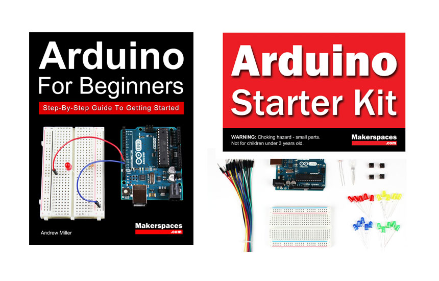 Arduino Starter Kit Book Makerspaces
