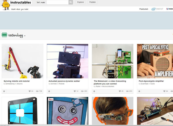 instructables for makerspaces