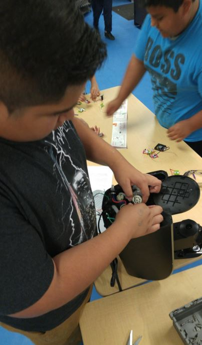 Perris Union High School Makerspace sent in by @mark_synnott