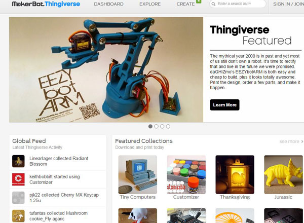 thingiverse 3d printing projects for makers and makerspaces 3d printables 3d models