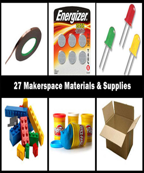 27 Makerspace Materials & Supplies