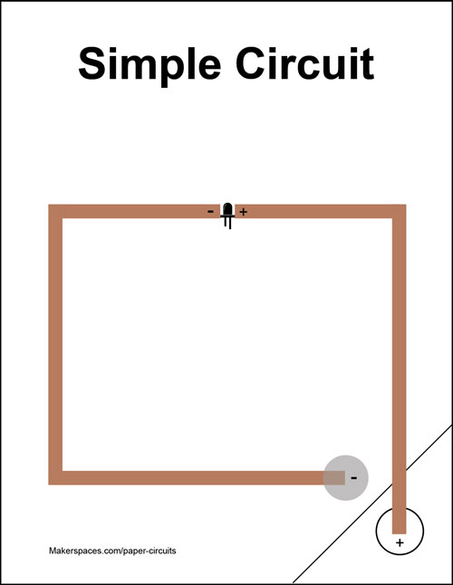 paper circuits for makerspaces makerspaces compaper circuit makerspace project