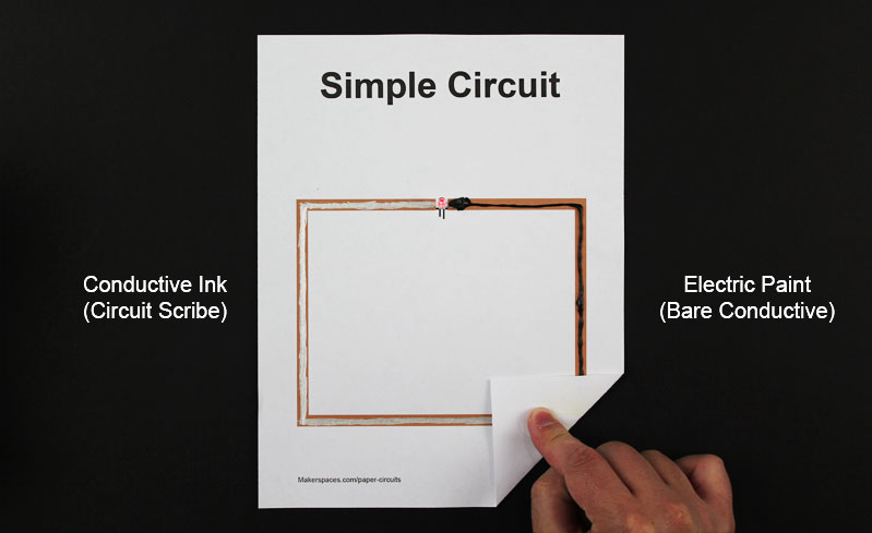 circuit scribe conductive ink electric ink paper circuits