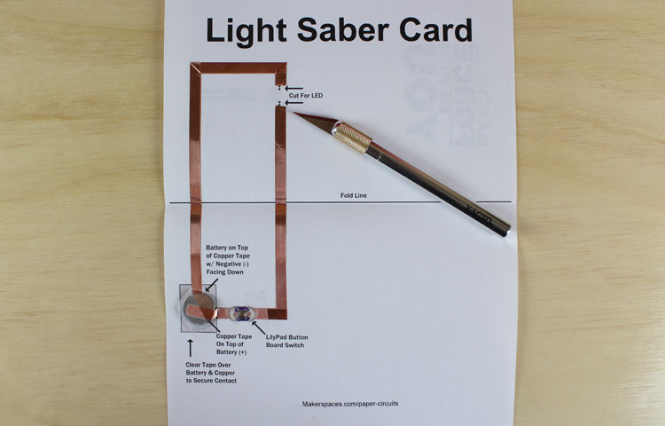 leds paper circuits