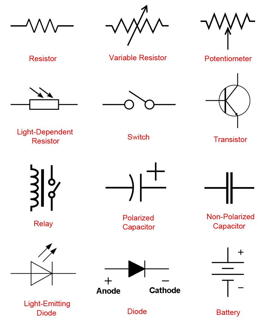 Resistor Circuit Symbol Lamp Wiring Diagram Services