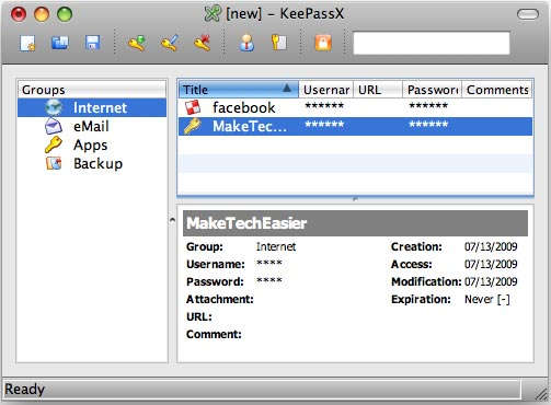 Safe Guard Your Password With KeePassX - Make Tech Easier