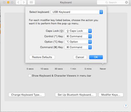 Mac-USB-Tastatur