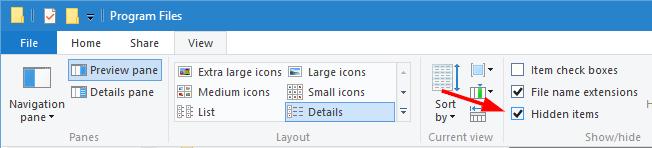 WindowsApps-Ordner-Check-Hidden-Dateien