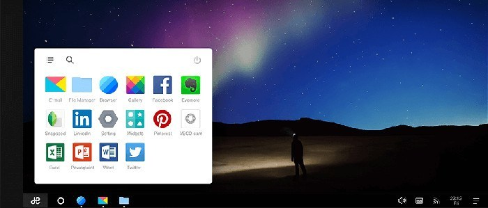 remixos-taskbar-menu